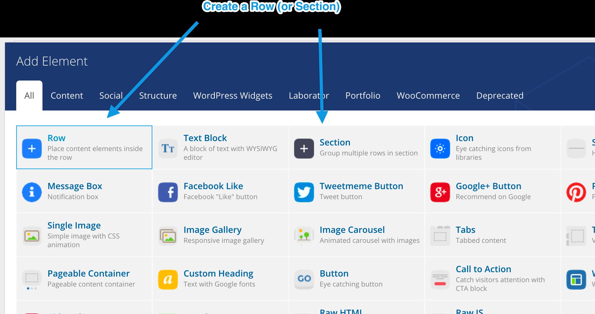 Scrollable menu links – Documentation