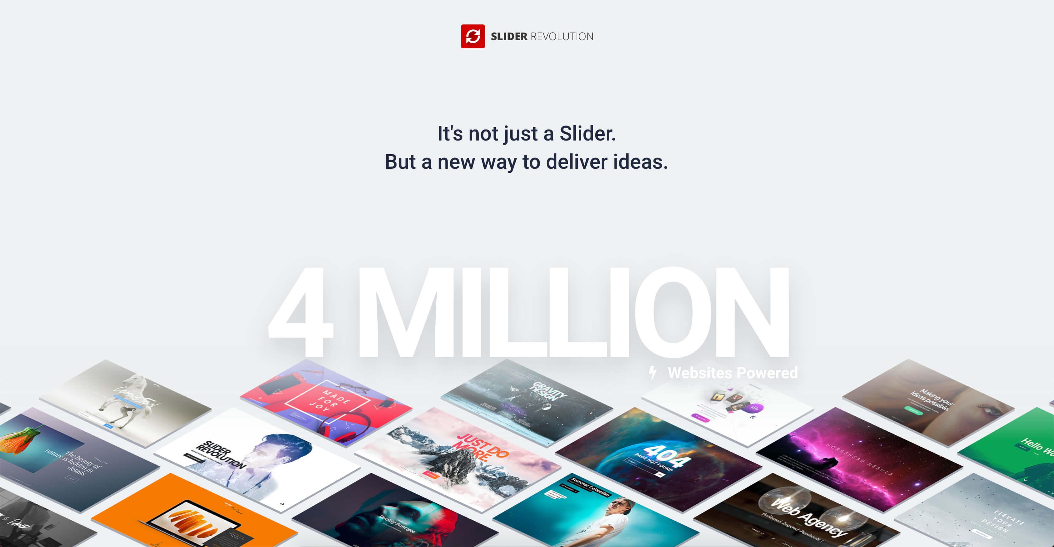 Slider Revolution – Documentation